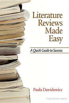 Dissertation literature review info