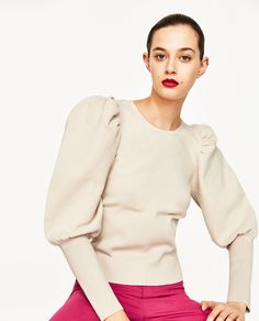 SWEATER WITH FULL SLEEVES
