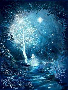 New Snow Tree Illustration Beautiful 52 Ideas Fantasy Art Landscapes, Fantasy Landscape, Fantasy Artwork, Landscape Art, Nature Wallpaper, Wallpaper Backgrounds, Fantasy Kunst, Pretty Wallpapers, Anime Scenery