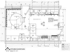 Floor Plan Construction Document Corey Klassen Interior Design Kitchen Floor Plan Example