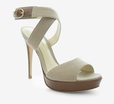 Summers just around the corner.  Alexandre Birman Tan And Brown Sandal