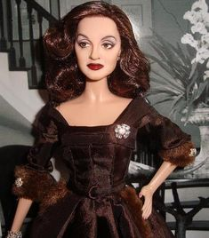 Amazing OOAK by Cyguy | Bette Davis in All About Eve |  Repainted & Rerooted Fashion Royalty | Sold on eBay for $1000.00.