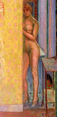 The Yellow Screen - Pierre Bonnard