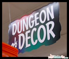 Dungeon Decor at Kmart