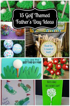 15 Golf Themed Father's Day handmade gift Ideas   #InspirationSpotlight