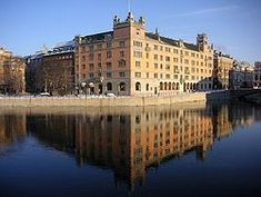 Rosenbad, in central Stockholm, has been the seat of the Government since 1981