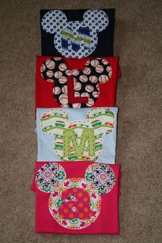 Items similar to Minnie Mouse Princess Shirt, Initial or Number, OR Disney Vacation Shirt, Mickey or Minnie Mouse, felt or fabric on Etsy Disney Vacations, Disney Trips, Disney Cruise, Disney Shirts, Disney Outfits, Disney Boys, Disney Fun, Disney Stuff, Disney On A Budget
