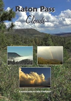 This video features CLOUDS in hi-speed motion.  Filmed at beautiful Raton Pass, New Mexico.  For a further description, gallery of photos, and video sample, follow this pin to my website.