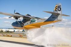 (T-85) Consolidated PBY-5 Catalina (N85U) Air Tanker - 28 September 2009