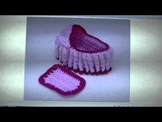 Crochet Cradle Purse - FREE WRITTEN PATTERN - YouTube