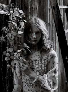"""Ludivine Poiblanc styles """"Delicacy"""" for Interview Magazine, June 2012  Check outLudivine's latest styles on herFacebook page"""
