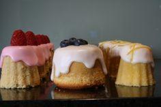 Tiny Tea Cakes: three recipe.