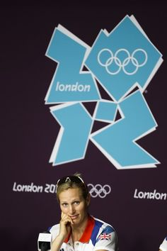 Zara Phillips of Great Britain attends a news conference with the British equestrian eventing team at Greenwich Park, the site for the equestrian and modern pentathlon events at the 2012 Summer Olympics, Thursday, July 26, 2012, in London.