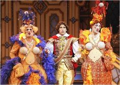 The Prince and the Ugly Sisters in action.
