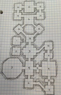 Related image rpg maps pinterest rpg and fantasy map for Floor 2 dungeon map