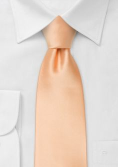 Love it. @Ashleigh Roberson don't know if you still need ties....Solid Color Mens Tie in Peach-Apricot 9.90