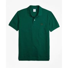 Brooks Brothers Slim Fit Supima® Cotton Performance Polo Shirt (€57) ❤ liked on Polyvore featuring men's fashion, men's clothing, men's shirts, men's polos, dark green, faded glory men's polo shirts, mens polo shirts, mens slim fit polo shirts, mens slim fit shirts and american eagle men's polo shirts