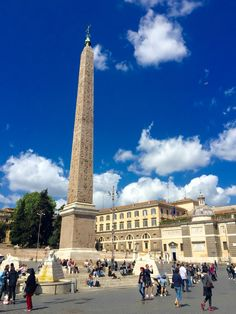 Piazza del Popolo, Rome , Italy.