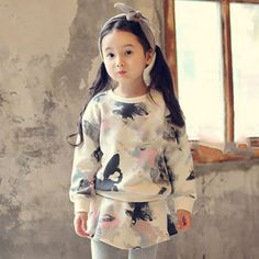 Ink Painting, Outfit Sets, Floral Tops, Kids Outfits, Kids Fashion, Children, Prints, Clothes, Women