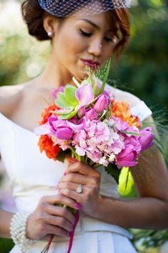 Tropical Bridal Bouquet Classic Bride