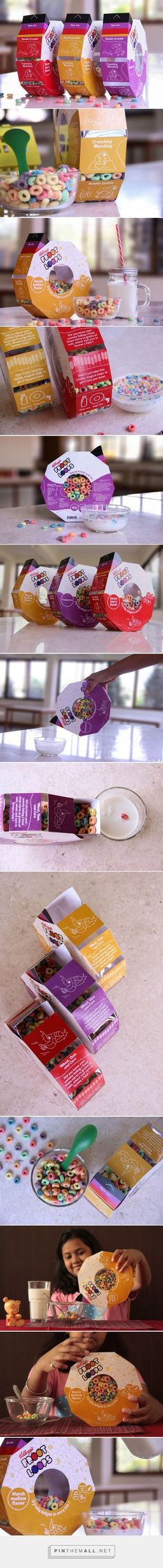 Frootloops ‪‎cereal‬ ‪‎packaging‬ designed by ‪student‬ Prachi Deshingkar, Shikha Kanakia