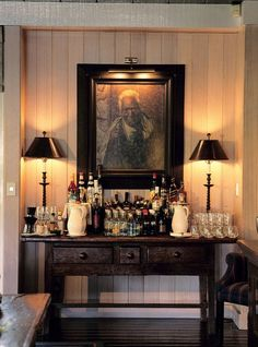 View deals for Huka Lodge. Guests enjoy the clean rooms. Huka Falls is minutes away. Breakfast, WiFi, and parking are free at this lodge. Huka Lodge, Bar Cart Styling, Bar Set Up, Bar Areas, Bars For Home, Decoration, Sweet Home, House Design, Interior Design