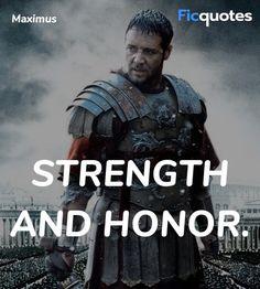 Read latest quotes from Gladiator movie on FicQuotes. Read best quotes from Gladiator with images and video clips. Gladiator 2000, Gladiator Movie, Military Motivation, Triathlon Motivation, Action Movie Poster, Action Movies, Gladiator Quotes, Russell Crowe Gladiator, Greek Tattoo