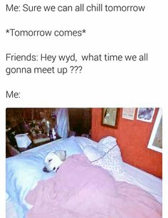 So relatable!! Hahaha  Let's meet up :)