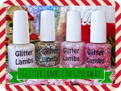 Cheers to Novelty http://www.cheerstonovelty.com/2014/11/super-sponsor-glitter-lambs-giveaway.html