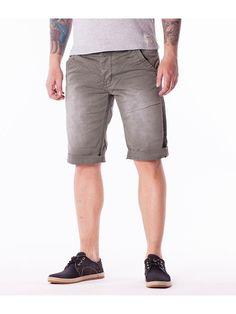 Pantaloni scurti barbati Y TWO JEANS - gri