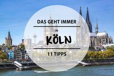 Unaufgeregter als Berlin, uriger als Hamburg und ehrlicher als München – das ist Köln. Wir stellen euch 11 Dinge vor, die ihr hier mal machen solltet.