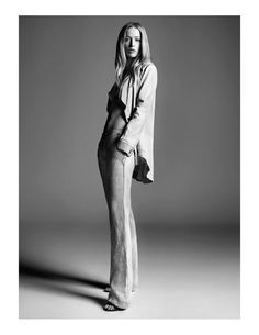 Raquel Zimmermann for Animale Spring 2012 Campaign by Henrique Gendre