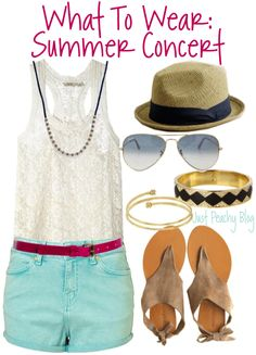 what to wear: summer concert