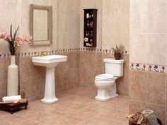 Mejores 70 Imagenes De Azulejos Para Banos En Pinterest Bathroom - Decoracion-de-azulejos-para-baos