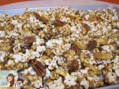 Lady Behind The Curtain - Caramel Apple Pie Popcorn