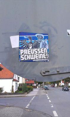 Eichenstr. - Preußen Schweine Sticker