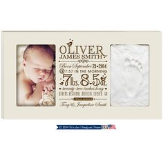 New Baby Hand Print and Footprint photo frame kit Baby birth announcement with stats frame,New Grandma Gift,New Daddy Gift,New parents Gift by Welovefamily on Etsy New Daddy Gifts, Gifts For New Parents, Fathers Day Gifts, New Grandma, Grandma Gifts, Godparent Gifts, Baby Kit, Baby Hands, And So The Adventure Begins