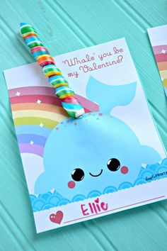 Get FREE kids Valentine's Printables here with this adorable and unique DIY Narwhal Valentine idea! If you like Unicorn Valentines then you will love this new Narwhal Valentine printable for your kids to make! Kinder Valentines, Unicorn Valentine, Happy Valentines Day Card, Valentines Gifts For Boyfriend, Homemade Valentines, Valentine Box, Valentine Day Crafts, Printable Valentine, Johnny Valentine