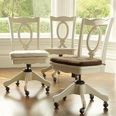 kitchen desks, swivel chair, pbteen, chair cushions, craft room, office chairs, pottery barn teen, home offices, desk chairs