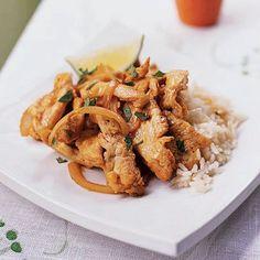 Thai Chicken Sauté Recipe