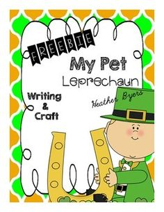 My Pet Leprechaun Desk BuddyDesk Buddies are a unique writing and craftivity product.Each monthly packet will have at least 4 different desk buddy crafttivities.  Each desk buddy also comes with 5 different writing pages. *circle thinking map*5 senses writing box page*Can, Have, Are map*Story map-topic, details 1,2,3, closing*Themed lined writing pageThese pages can be used as daily writing pages in a writing center, time fillers, morning work, homework, or for early finishers.The different…