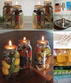 Elle fait des bougies parfumées dans des pots Mason! - Bricolages - Des bricolages géniaux à réaliser avec vos enfants - Trucs et Bricolages - Fallait y penser !