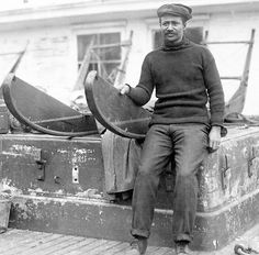 Matthew Henson, exploration partner of Robert Peary who made the first trip to the north pole.