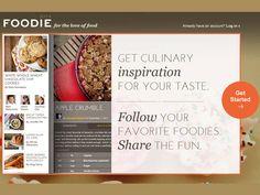 A Foodie.com é uma rede social para os amantes da boa comida