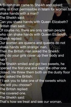Women in Islam  islam... islam..InSyaAllah. Quotes. Saying. Beautiful Words  ♥♥♥♥♥♥♥♥ Subhanallah...  Islam is beautiful...Alhamdulillah