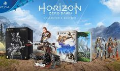 "Horizon: Zero Dawn Collector's Edition for PS4 inc. 9"" Aloy Statue, Steelbook Case, Artbook, PS4 Theme & more: http://amzn.to/2hwQ1Te"