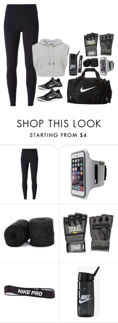 """Boxing"" by mikashh ❤ liked on Polyvore featuring NIKE, Everlast, women's clothing, women, female, woman, misses and juniors"