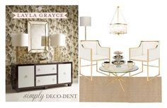 """""""Simply Deco-Dent With Layla Grayce"""" by water-lily-queen on Polyvore"""