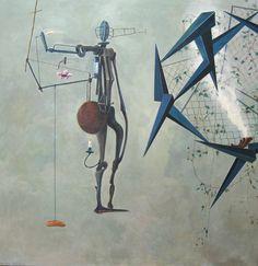 Nader ahriman  Begegnung zwischen dem Schäfer und Gestalt des Bewußtseins   2003  acrylic on canvas  94.49 x 92.13 inches/240 x 234 cm 49er, Graphic Design, Contemporary, Inspired, Gallery, School, Painting, Inspiration, Art