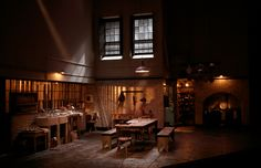 After Miss Julie. Scenic design by Tom Scutt.